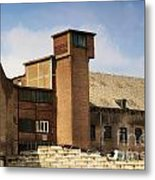 Old Factory Metal Print