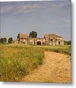 Old Farm - Barn Metal Print