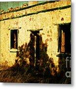 Old Farm Building Metal Print