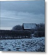 Old Farm House In Northern Yorkshire Metal Print