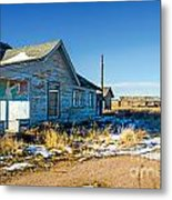Old Farm House Metal Print by Baywest Imaging