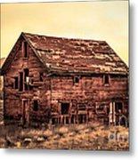 Old Farm House Metal Print