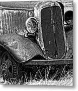 Old Farm Truck Metal Print