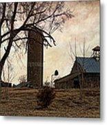 Old Farmstead  Metal Print