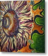 Old Fashion Flower 2 Metal Print