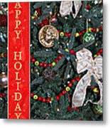 Old Fashioned Christmas Metal Print by Carolyn Marshall