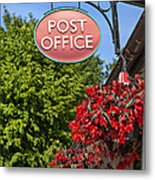 Old Fashioned Post Office Sign Metal Print