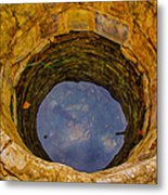 Old Fashioned Well Abstract Metal Print