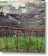 Old Fence Metal Print