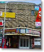 Old Film Theatre In Decay Metal Print