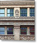 Old First National Bank - Building - Omaha Metal Print