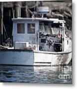 Old Fishing Boat Metal Print