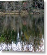Old Fishing Hole Metal Print