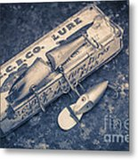 Old Fishing Lures Metal Print