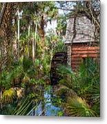 Old Florida Watermill I Metal Print