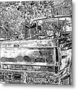 Old Ford Metal Print by Sharon McLain