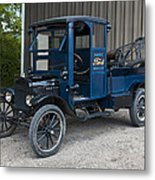 Old Ford Wrecker  Metal Print
