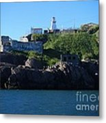 Old Fort Amherst By Barbara Griffin Metal Print