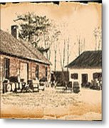 Old Fort Langley 1 Metal Print