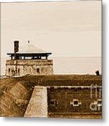 Old Fort Niagara North Redoubt Metal Print