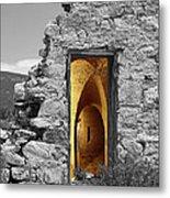 Old Fort Through The Magic Door Metal Print