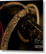 Old Frayed Wires Metal Print