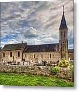 Old French Church Metal Print