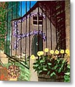 Old French Farm House Metal Print