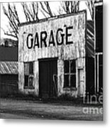 Old Garage Metal Print