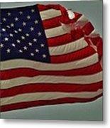 Old Glory American Flag 7 6/29 Metal Print