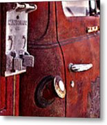 Old Glory Days Door Limited Edition Metal Print