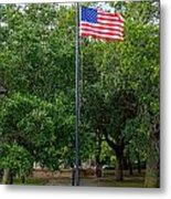 Old Glory High And Proud Metal Print