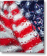 Old Glory Impression Metal Print