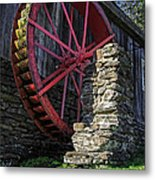 Old Grist Mill Vermont Metal Print