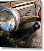 Old Headlights Metal Print