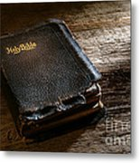 Old Holy Bible Metal Print