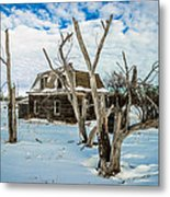Old House 3 Metal Print