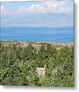 Old House By The Beach Metal Print