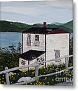 Old House - If Walls Could Talk Metal Print