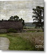 Old House In Culloden Battlefield Metal Print