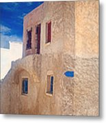 Old House In Oia  Metal Print