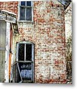 Old House Two Windows 13104 Metal Print