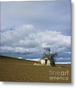 Old Hut. Auvergne. France Metal Print by Bernard Jaubert