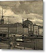 Old In Memory But Modern Copenhagen Metal Print