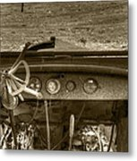 Old Inside And Out Metal Print