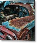 Old International Hood And Fender  Hdroc4224-13 Metal Print