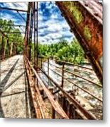 Old Iron Metal Print
