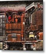 Old Kansas City Factory Building  Metal Print