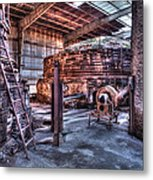 Old Kilns Metal Print