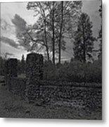 Old Liberty Park Ruins In Spokane Washington Metal Print